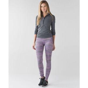 Lululemon Speed Tight IV Space Dye Violet Leggings